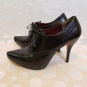 Maxstudio leather booties sz 7